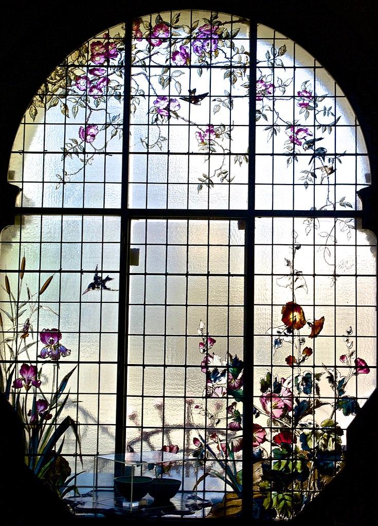 Vitraux de la Maison art nouveau José Malhoa à Lisbonne - Photo de Pedro Ribeiro Simões