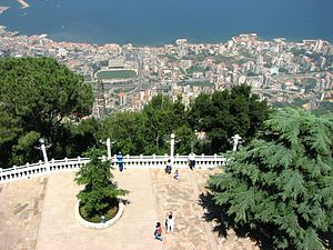 Harissa-Daraoun - Observation deck at the Shrine