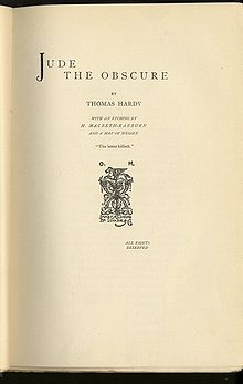 essays jude obscure Jude the obscure jude the obscure is a novel of pessimistic which is essentially one of the defeated hopes and unrealized aspirations of the hero who belongs to the.
