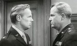 Alan Baxter (actor) - Richard Widmark and Baxter (right) in Judgment at Nuremberg (1961)
