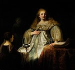 Artemisia, by Rembrandt, from Prado in Google Earth.jpg