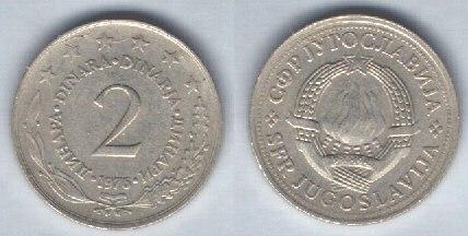 Jugoslavia 2 dinari
