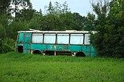 Jurowce, hřbitov, autobus