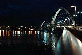 Juscelino Kubitschek bridge - Image: Juscelino Kubitschek Bridge Photo by Sascha Grabow