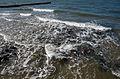 Kühlungsborn, Wellen am Strand, (1).JPG