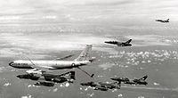 KC-135A refueling Wild Weasel team Oct 1972.jpg