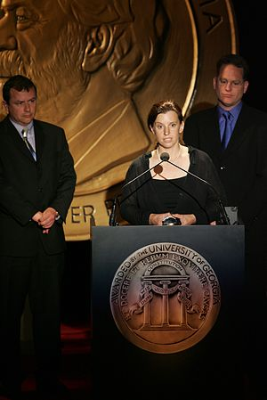 Hilary Andersson - Andersson at the 64th Annual Peabody Awards