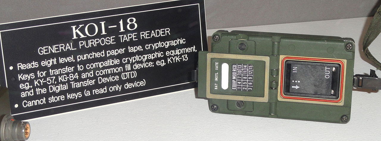 File:KOI-18 General Purpose Tape Reader - National