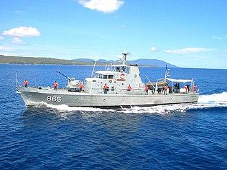 HMAS Ardent (P 87) - Image: KRI Tenggiri