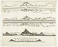 Kaart van de aanleg van de straatweg van Den Haag naar Scheveningen, 1664-1665 (tweede blad) Caerte van de straet wegh soo die gemaeckt is van Den Hage tot aen 't zee strang, RP-P-2016-1903.jpg