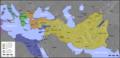 Kaart van de diadochenrijken (300 v. Chr.).PNG