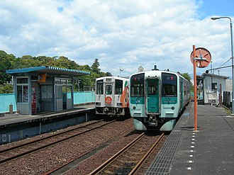 Kaifu Station - Kaifu Station in May 2010