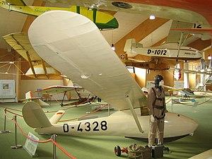 Schleicher Ka 3 -  Ka 1 in the Wasserkuppe museum