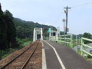Kakigashima Station Railway station in Ōno, Fukui Prefecture, Japan
