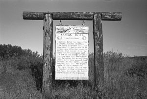 Kamiak Butte - Image: Kamiak sign