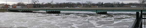 Kankakee River in Flood (Kankakee, IL)