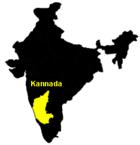 Verbreitungsgebiet von Kannada
