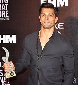 Karan Singh Grover at FHM Awards.jpg