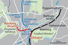 Hamburg Airport station Wikipedia