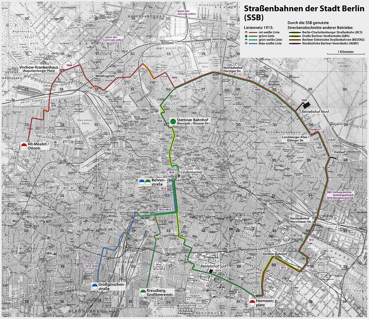 Stra U00dfenbahnen Der Stadt Berlin  U2013 Wikipedia