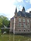 kasteel wijchen 07, oostvleugel zuidhoek, aansluiting aan poortgebouw