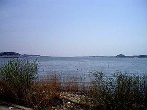 Suigo-Tsukuba Quasi-National Park - Image: Kasumigaura takahama