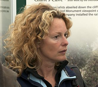 Kate Humble - Kate Humble at the Monmouthshire Show in 2012