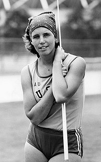 Kate Schmidt American javelin thrower