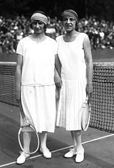 Kathleen McKane Godfree British badminton and tennis player