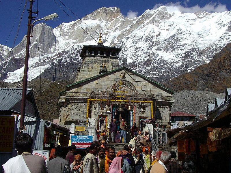 File:Kedarnathji-mandir.JPG
