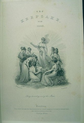 The Keepsake - Title page for The Keepsake for 1829