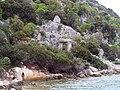 Kekova Adası Ruin Batık Şahir Sunken City.jpg