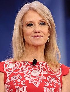 Kellyanne Conway American strategist and pollster