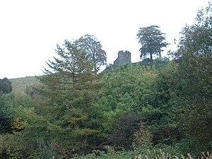 Kendal Castle - Image: Kendal Castle by David Medcalf