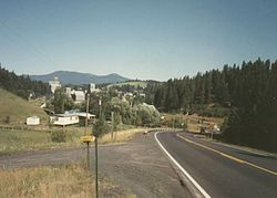 View towards Kendrick, 1991