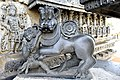 Kesava Temple Decorative Yazhi̠ Sculpture.jpg