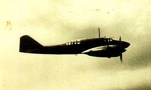 "Mitsubishi Ki-46 - A Mitsubishi Ki-46-I or II ""Dinah"" in flight."