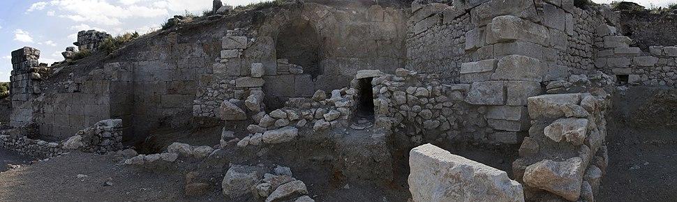 Kibyra Roman bath 9970 panorama