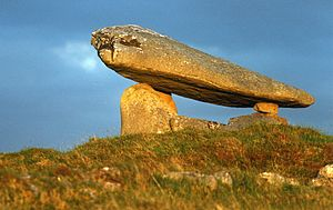 Ardara, County Donegal - Kilclooney dolmen near Ardara