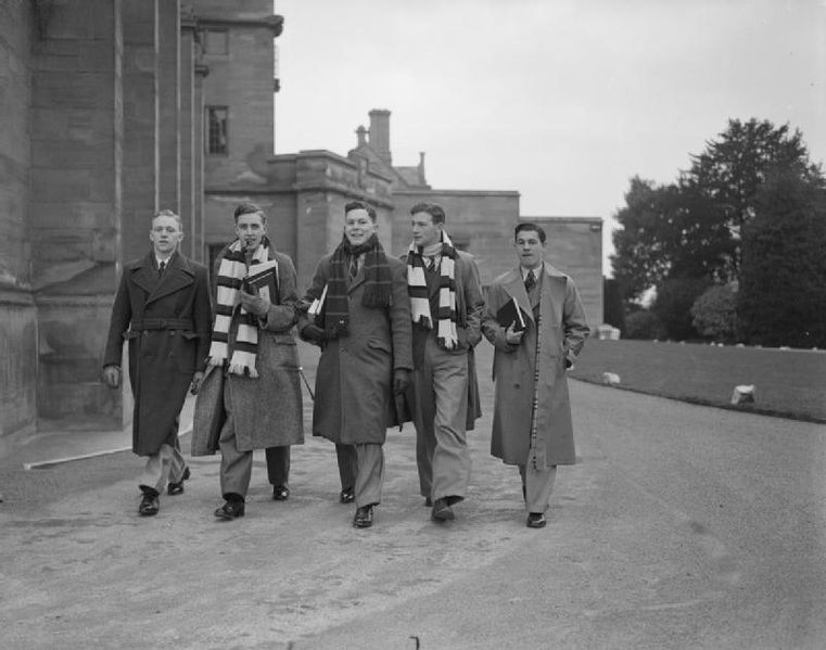 File:King's College London Students Evacuated To Bristol, England, 1940 D428.jpg