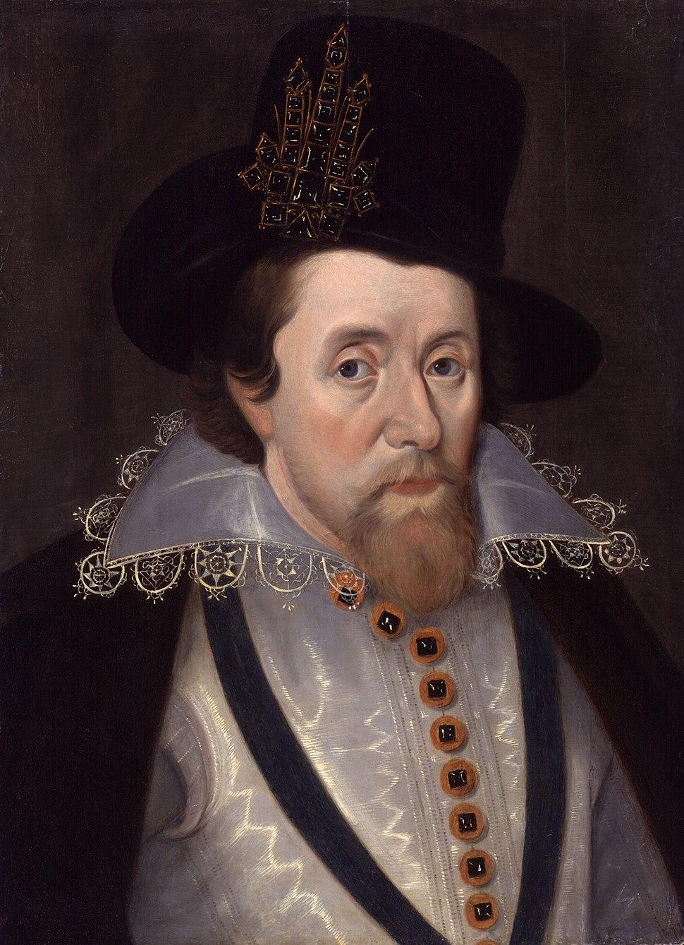 King James I of England and VI of Scotland by John De Critz the Elder