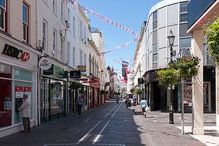 street in Saint Helier