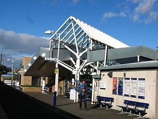 Kirkcaldy railway station railway station in Fife, Scotland, UK