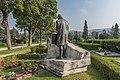 Klagenfurt Annabichl Friedhof Koschat-Grabstätte Skulptur Lesachtaler 28082016 3886.jpg