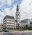 Klagenfurt Domplatz Stadtpfarrkirche Hll Peter und Paul 09092015 7245.jpg