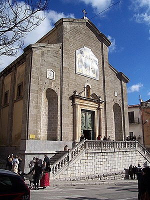 Eparchy of Piana degli Albanesi - Cathedral of Saint Demetrius the Martyr
