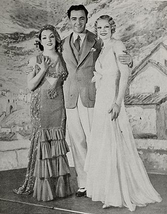 Lupe Vélez - Lupe Velez, Buddy Rogers, and June Knight in the Broadway musical Hot-Cha! (1932)