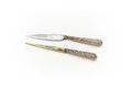 Kniv med förgylld tånge, täckt med silverfiligran - Skoklosters slott - 92321.tif