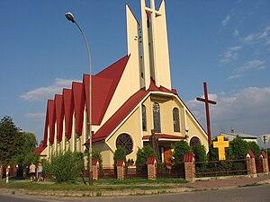 Lubaczów - Image: Kościół św. Karola Boromeusza w Lubaczowie