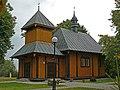 Kościół p.w. Najświętszej Marii Panny (XVIIw.) - Kościeniewicze gmina Piszczac powiat bialski woj. lubelskie ArPiCh A-18.JPG
